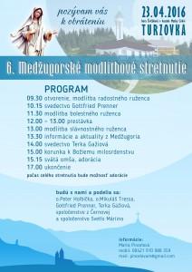 Plagat Turzovka 23.4.2016
