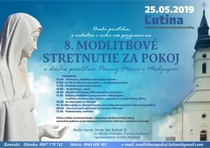 Deviatnik pred Medžugorským modlitbovým stretnutím na Slovensku za pokoj 25.5.2019